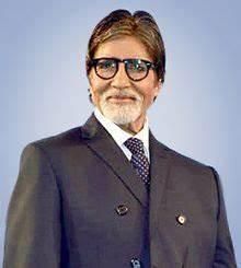 The line starts where I stand: Mr. Amitabh Bachchan
