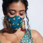 KALKI Fashion Introduces Hand-Embroidered Wedding Masks For The Brides & Baraatis