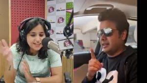 Rohit Gupta roasts Rj Sonali in the voice and lingo of Sanjay Dutt and Nawazuddin Siddiqui