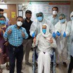 98-year-old grandfather wins the battle of CoronaVirus in 19 days in Mumbai