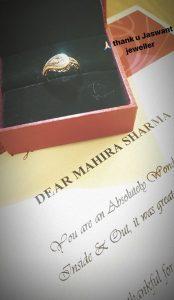 WITH LOVE FROM A FAN TO MAHIRA SHARMA-Starry Starry DIAMONDS