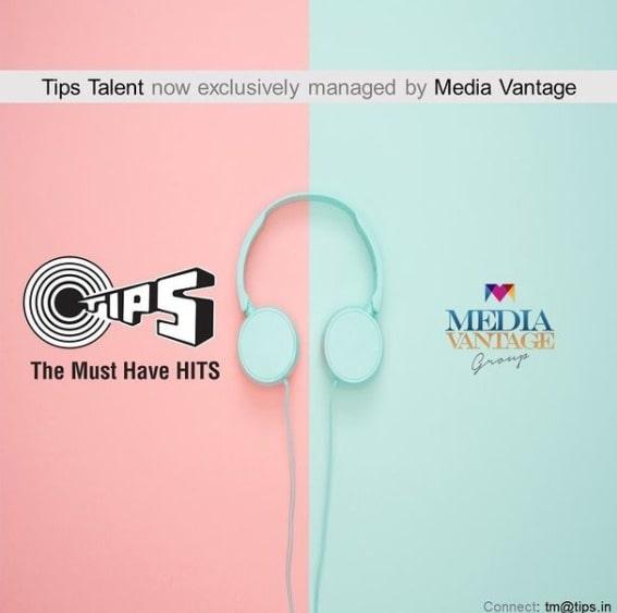 Tips Music announces strategic partnership with Media Vantage
