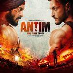 Antim: The first poster reveals the ferocious fight between Salman Khan and Aayush Sharma